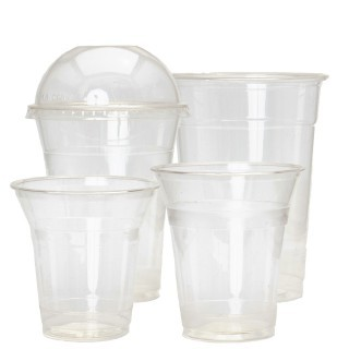 PLA Biodegredable Smoothie Cups 100% Biodegradable Plastic